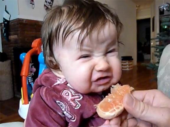Babies-Taste-Sour