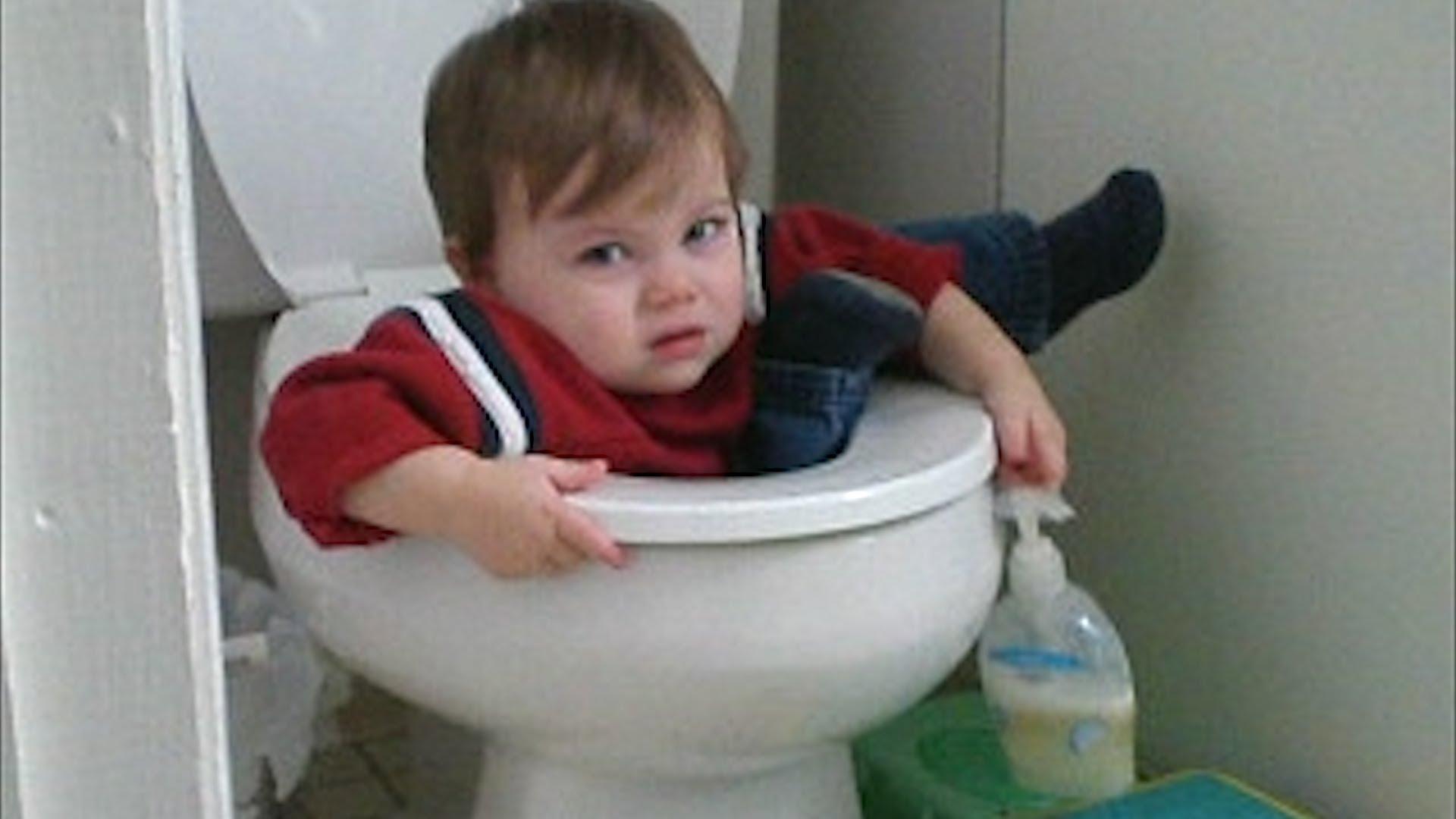 kide stuck