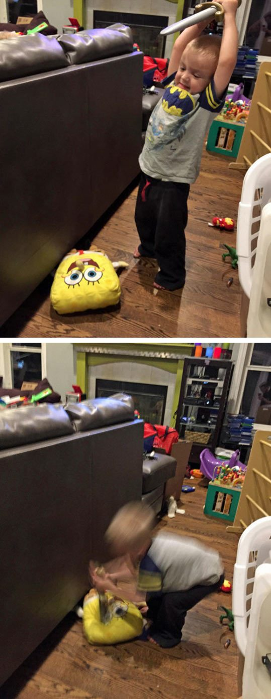 the-best-funny-pictures-of-kid-mad-toy-SpongeBob-the-walking-dead